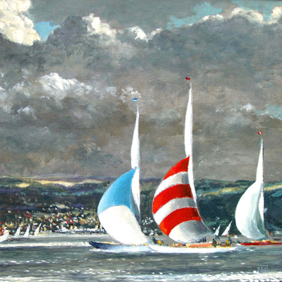 Clyde-Regatta-by-Arthur-H.Turner