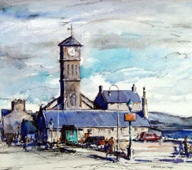 Gregor-Ian-Smith--Old-Parish-Church-Helensburgh-1954