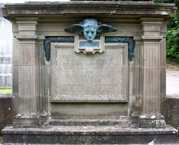 Sir-James-Guthrie-grave-w