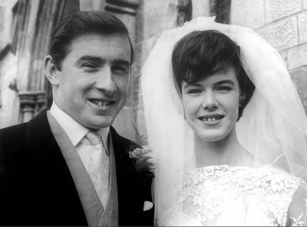 Jackie Stewart wedding