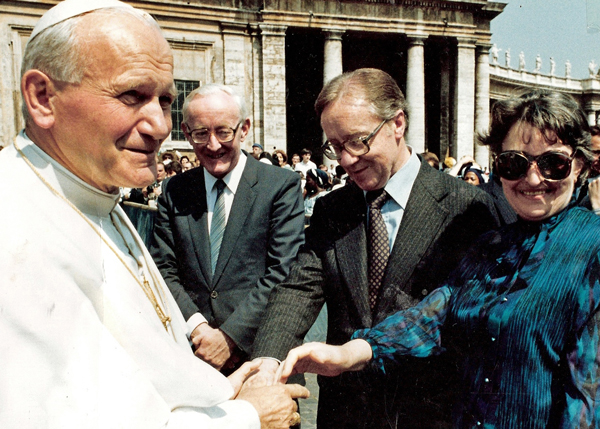 Meehans-with-Pope-John-Paul-II-w